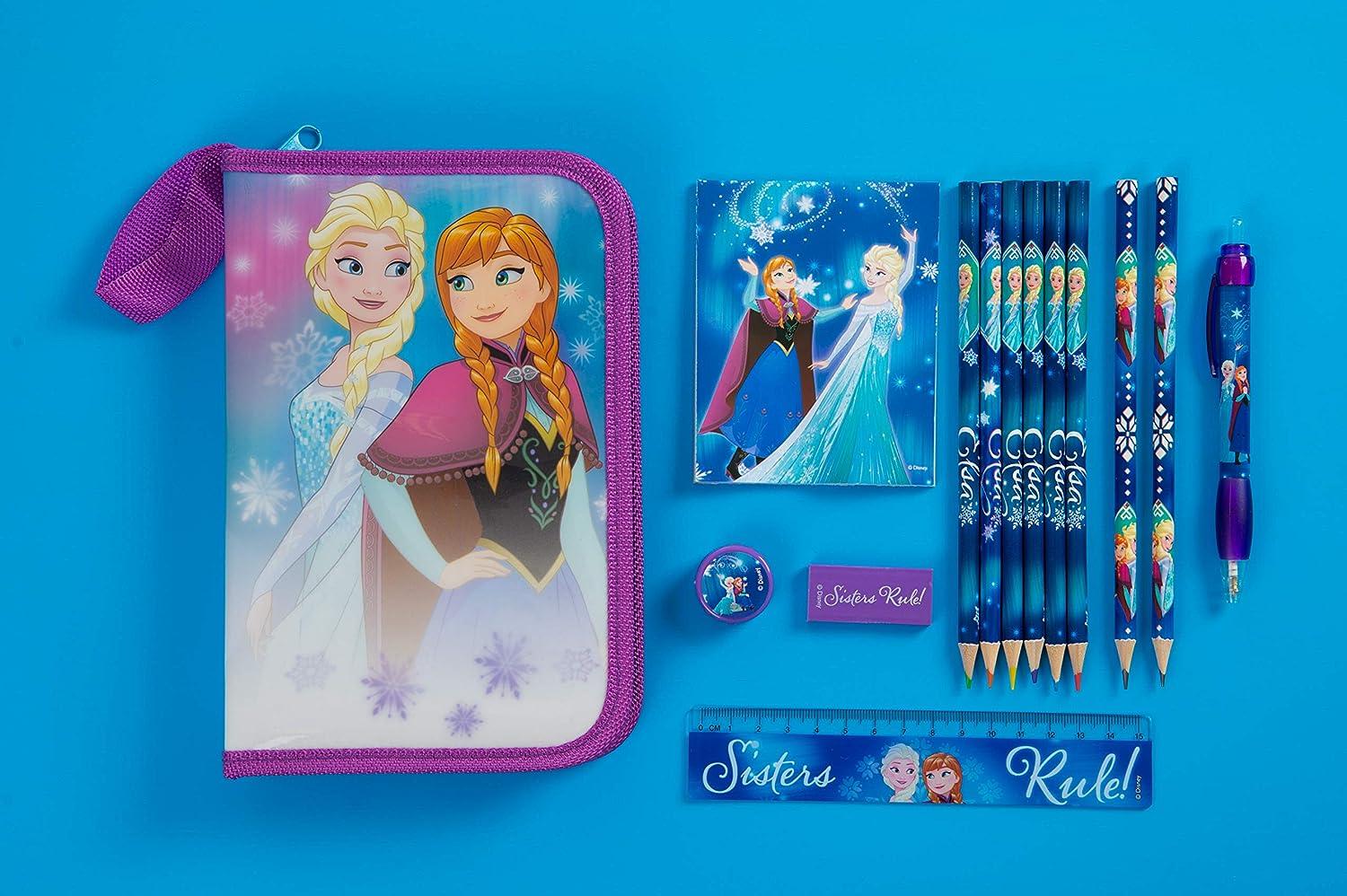 Disney Frozen Federm/äppchen gef/üllt Violett