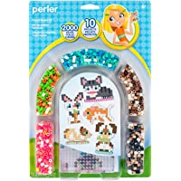 Perler Beads 3D Pets Pattern and Fuse Bead Kit, 2004Pc, 10 Patterns