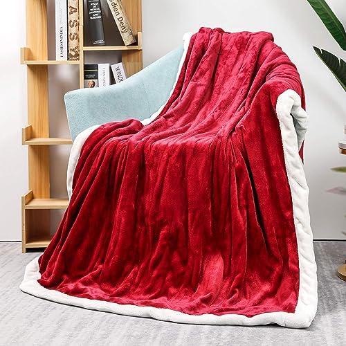 Homde Heated Blanket Electric Throw 50 x 60 Flannel Heated Blanket