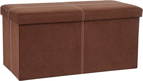 Fresh Home Elements FHE 30 Folding Ottoman Bench