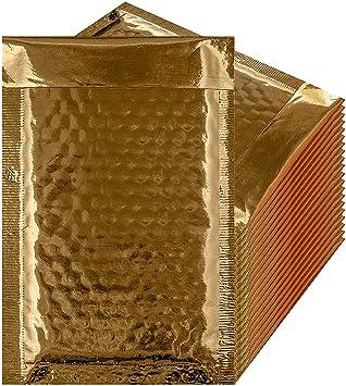 "10 Metallic Orange 6.5/""x9/"" Foil Mailing Postage Postal Bags"