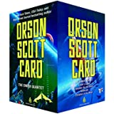 The Ender Quartet Boxed Set: Ender's Game, Speaker for the Dead, Xenocide, Children of the Mind (The Ender Saga)