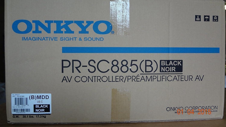 Amazon.com: ONKYO RECEIVER, ONKYO, THX ULTRA2, 7.1 - PR-SC885: Home ...