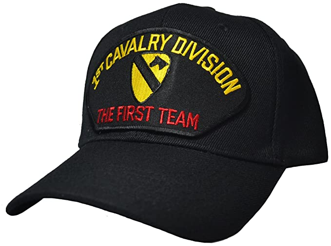 e6e6f879837a4 Image Unavailable. Image not available for. Color  1st Cavalry Division The  First Team Ball Cap