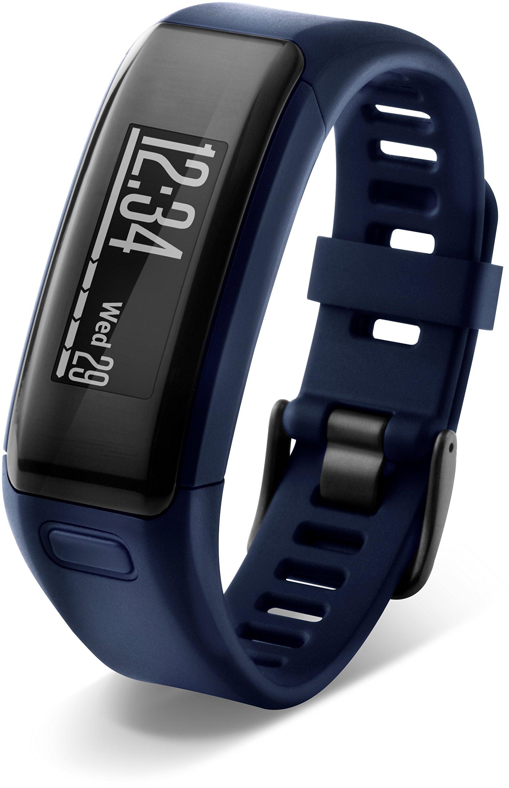 Garmin vívosmart HR Activity Tracker Regular Fit - Midnight Blue (Deep Blue) by Garmin (Image #12)
