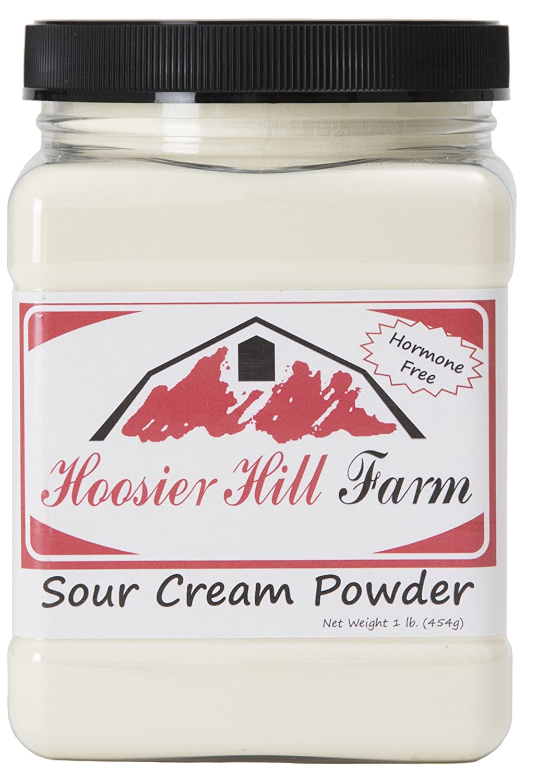 Hoosier Hill Farm Sour Cream Powder, 1 Pound, New, Free Shipping 858639005374