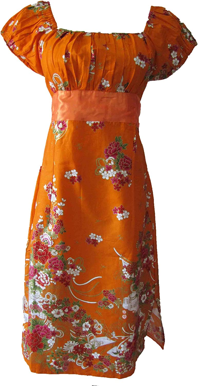 the grace eboutique Garden Floral Peasant Wedding Bridesmaids Satin Oriental Dress