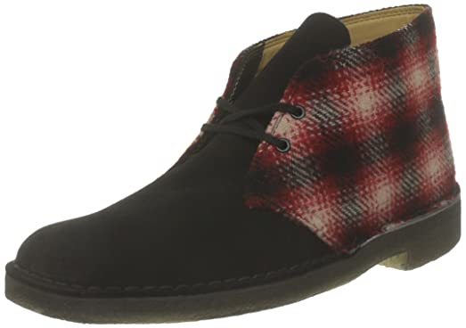 Clarks Red Combi Desert Boots  B00F0O8W7O