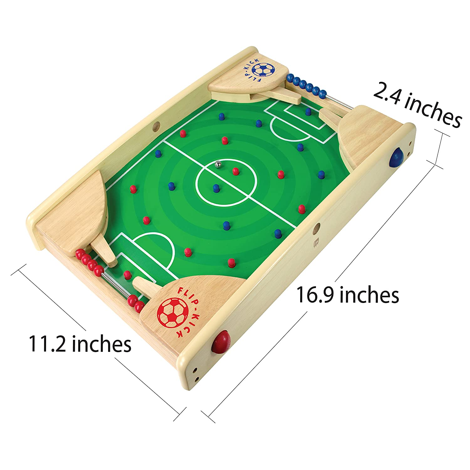 Indoor Portable Sport Table Board for Kids and Family I/'m International Co I//M Wooden Tabletop Football//Soccer Pinball Games Ltd