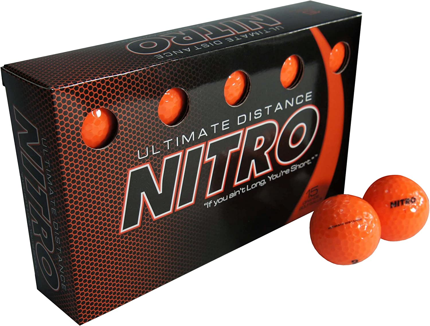 Nitro Ultimate Distance Golf Ball (15-Pack)