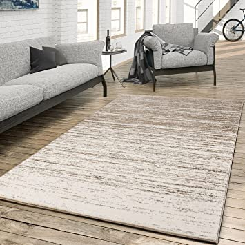 Rug For The Living Room Colour Gradient Modern Cream Beige Size