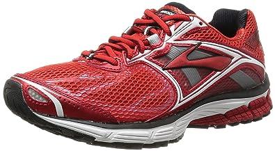 Brooks Mens Ravenna 5 Running Shoes, Color: HighRiskRed/White/Black, Size