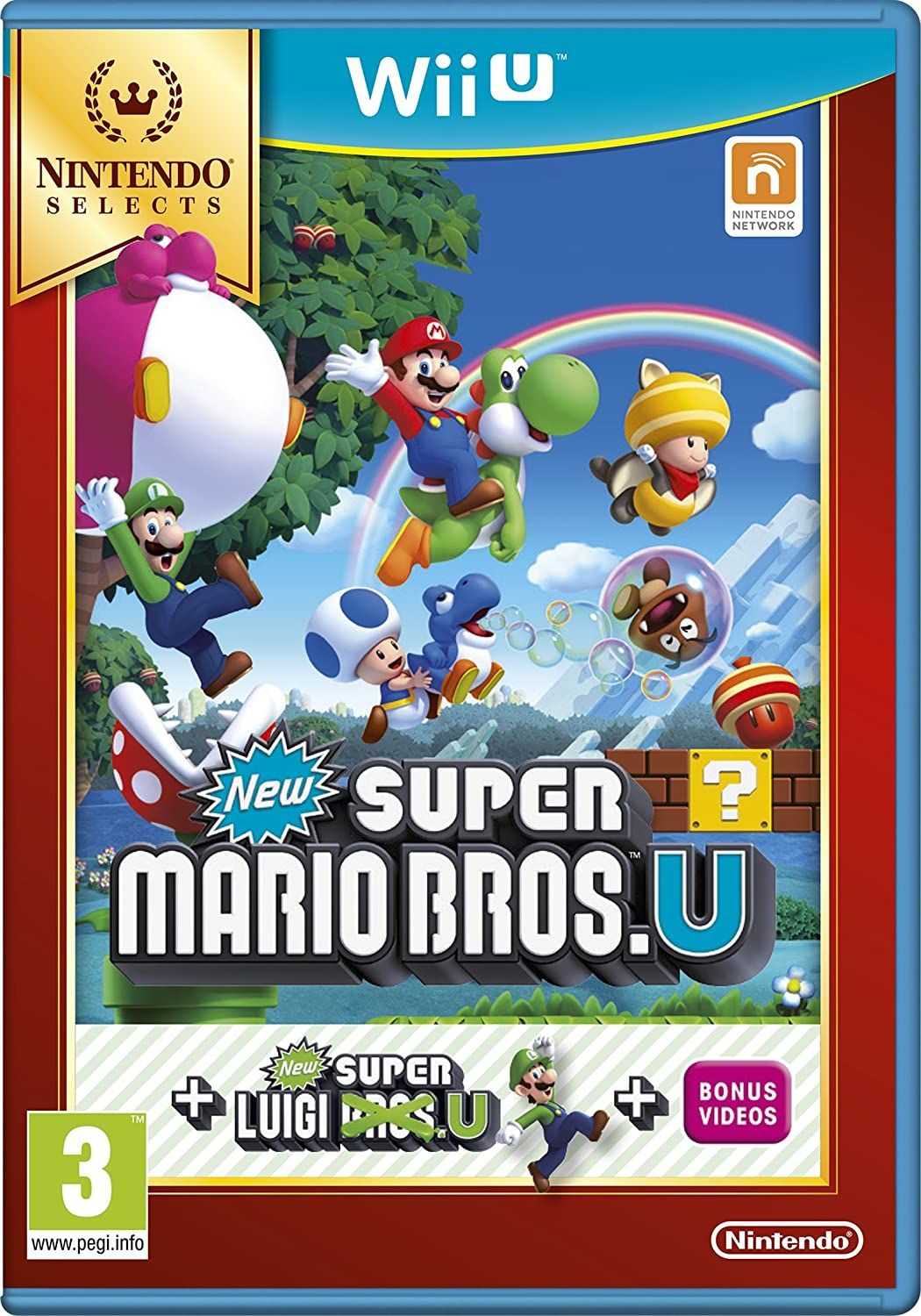 New Super Mario Bros. U Plus New Super Luigi U Select [Importación Inglesa]: Amazon.es: Videojuegos