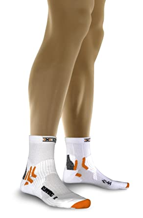 X-Socks Run Short Sports Socks Small White