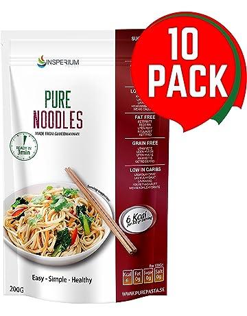 PureNoodles Tallarines Konjac Sin Gluten 10 Pack 200 gramos | Vivir Sin Gluten Con Harina Gluten