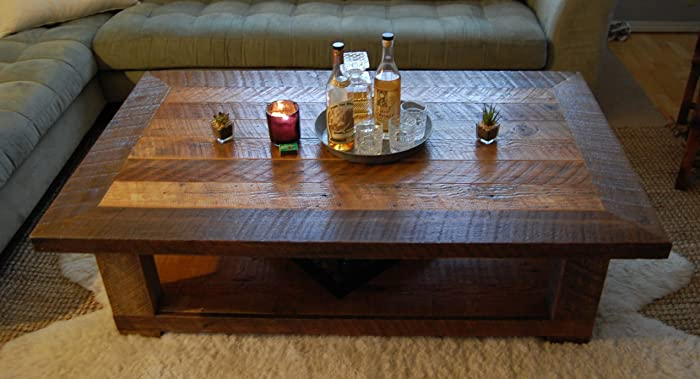 Reclaimed Wood Coffee Table  The U0026quot;Old Seattle Originalu0026quot; ...