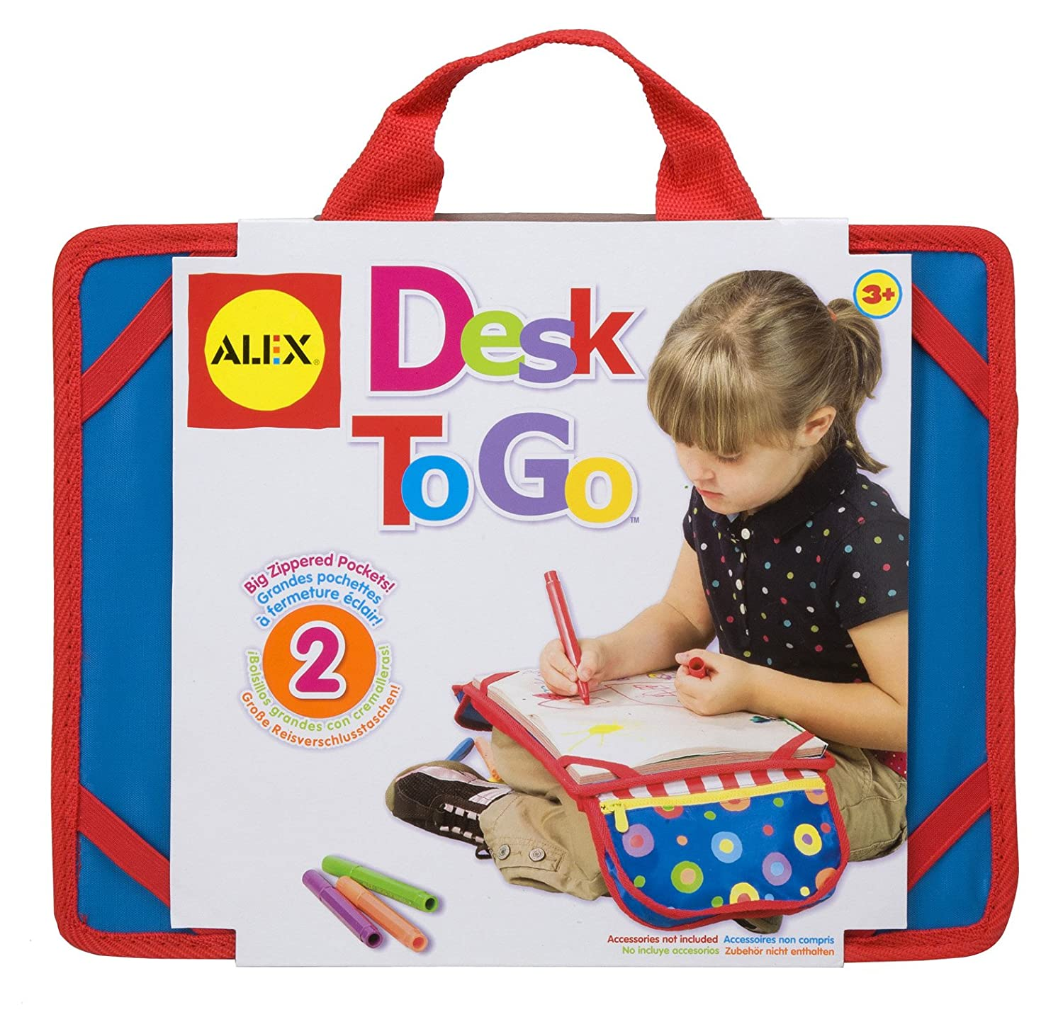 Amazon ALEX Toys Artist Studio Desk To Go Toys & Games