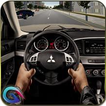 Racing In Car Drive