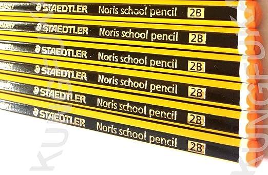 10 opinioni per STAEDTLER NORIS SCHOOL PENCILS 2B [Box of 36]