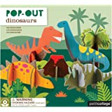 Petit Collage Pop Out and Build, Dinosaurs Playset