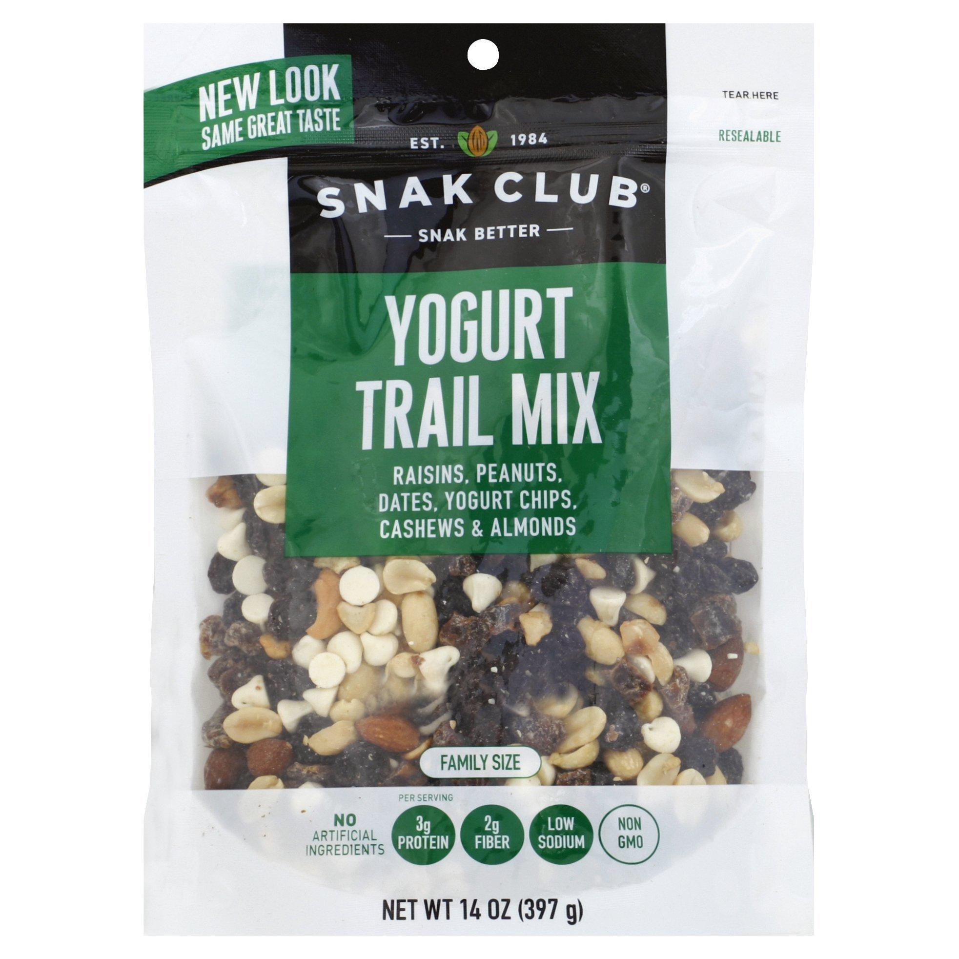 Snak Club All Natural Yogurt Trail Mix, Non-GMO, 14-Ounces