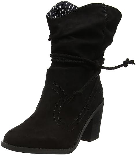 Rocket Dog Deputy, Botines para Mujer, Negro, EU 41: Amazon.es: Zapatos y complementos