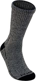 product image for EcoSox Diabetic Socks - Crew with Arch Support (Pack of 3 OR 6) Viscose from Bamboo by Ecosox Sizes Med 9-11, Large10-13, XL12-15 (Char/BLK 9-11, 3 Pack)