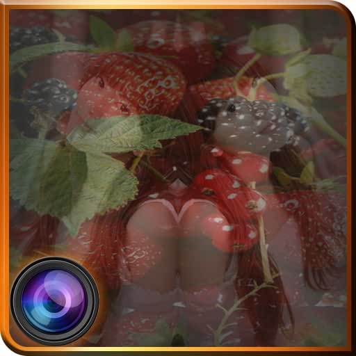 Fruits Photo Mirror Effects