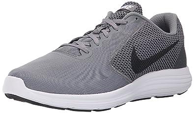 NIKE Men's Revolution 3 Running Shoe, Cool Grey/Black/White