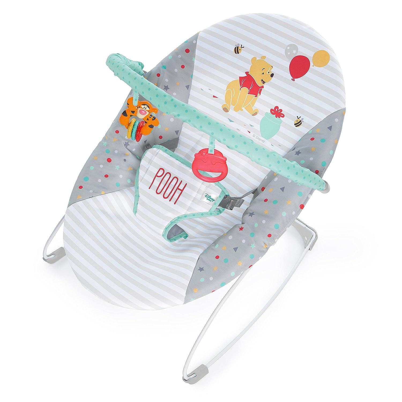 Disney Baby Happy Hoopla Vibrating Bouncer from Bright Starts Kids II - (Carson CA) 10518-4