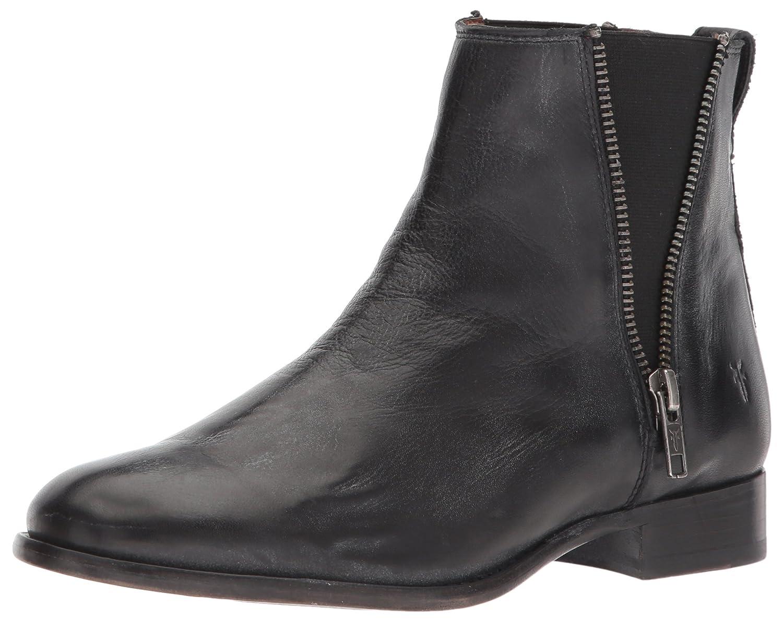 FRYE Women's Carly Zip Chelsea Boot B072JXHD7D 5.5 B(M) US|Black