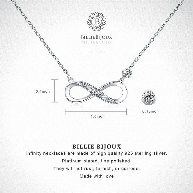 235cfdbf79 925 Sterling Silver Necklace - Billie Bijoux