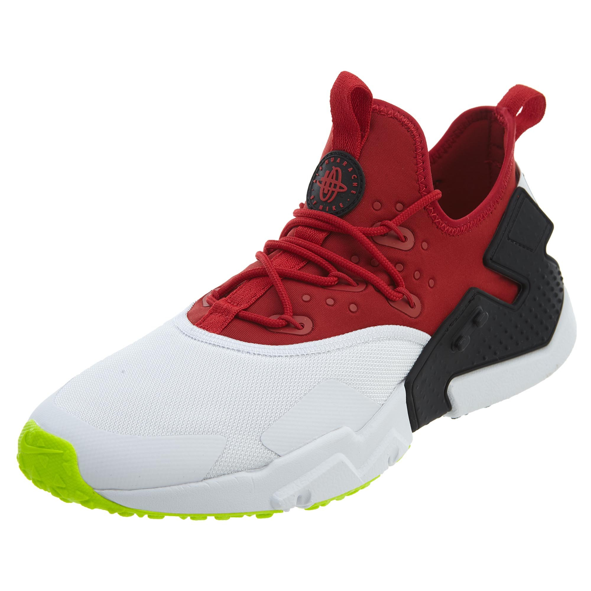 best website 27bf7 27d8f Nike Air Huarache Drift Gym Red/White-Black-Volt (8 D(M) US)