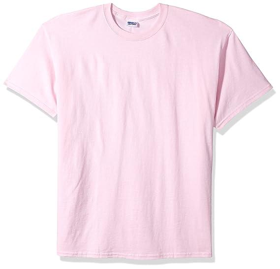 Gildan - Camiseta básica de manga corta Modelo Ultra Cotton para hombre caballero (Grande (