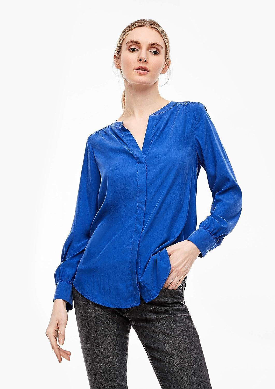 s.Oliver dam blus koboltblå