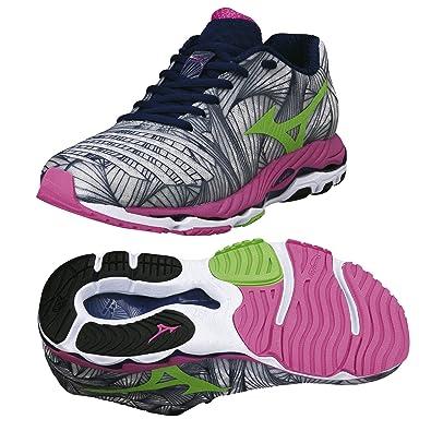 118a0e189893 Mizuno Women's Trail Running Shoes Grey Grey/Pink 9 UK: Amazon.co.uk ...