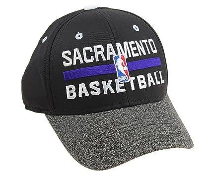 52b7ad807 Amazon.com : adidas NBA Men's Official Practice Flex Hat, Sacramento ...