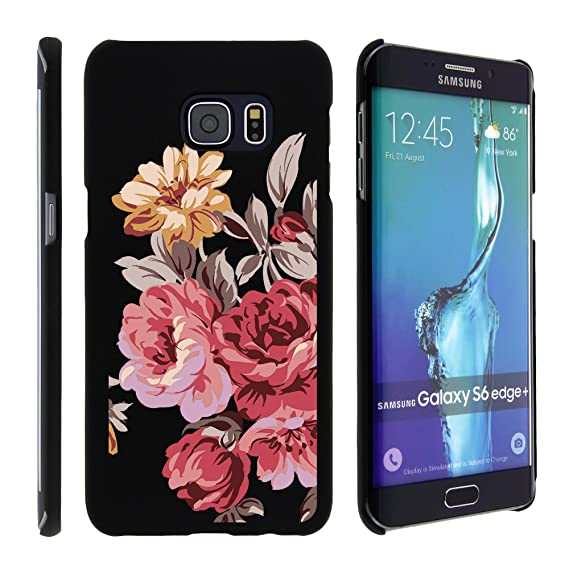 official photos 19a42 223ce Amazon.com: Samsung Galaxy S6 Edge Plus Case, Slim Fit Snap On Cover ...