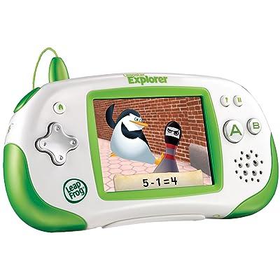 LeapFrog Leapster Explorer Learning Game System, Green: Toys & Games
