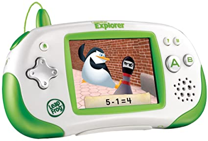 amazon com leapfrog leapster explorer learning game system green rh amazon com Leapster Charging System LeapFrog Leapster Explorer System