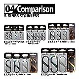 Nite Ize SB5-03-07 Size-5 S-Biner, Spectrum
