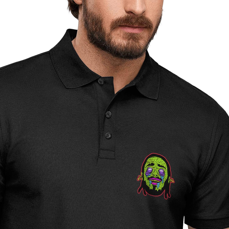 ELIBEZA Designer T Shirt Polo for Men Printed Mens Polo Tshirts Cute Tees Polo