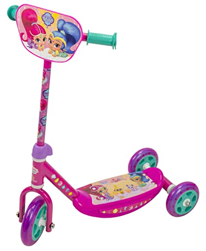 Amazon.com: Shimmer and Shine 2641 - Patinete con 3 ruedas ...