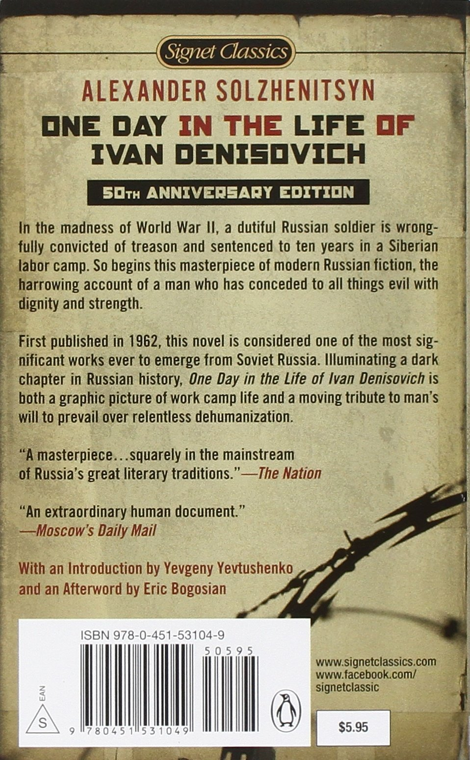 an introduction to a day in the life of ivan denisovich