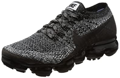 0818852f1878d Nike Women Air Vapormax Flyknit Running Black Black-White-Racer Blue Size  5.5 US