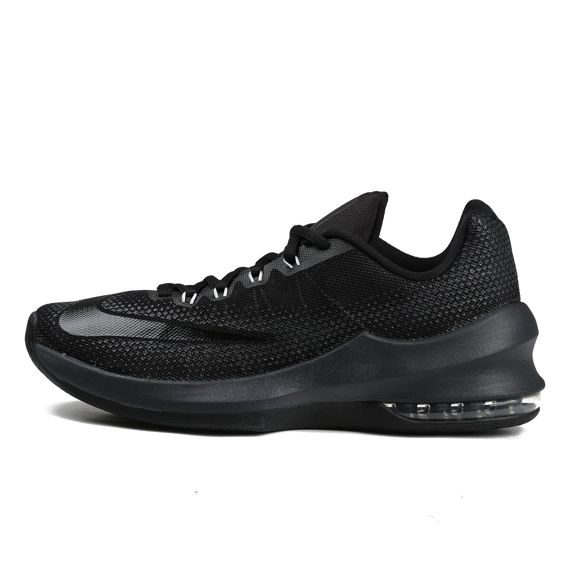 outlet store sale 9efe0 81450 Galleon - NIKE Men s Air Max Infuriate Low Basketball Shoe Black Anthracite Dark  Grey Size 15 M US