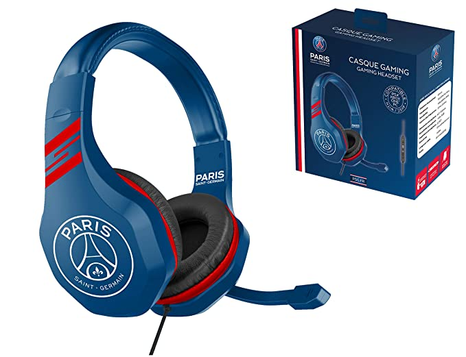 PSG Paris Saint Germain Auriculares gaming accesorio PS4, PS4 Pro, Xbox One, PC