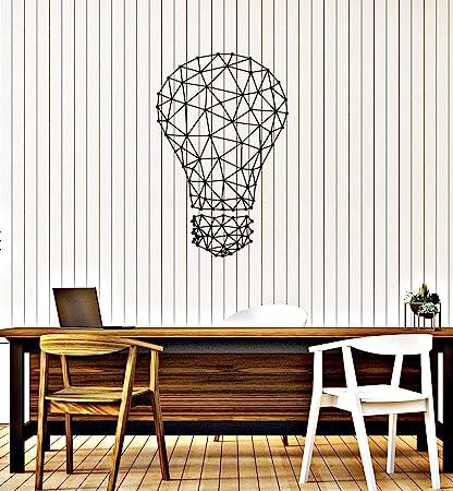 Amazon.com: WallStickers4ever Vinyl Wall Decal Lightbulb ...