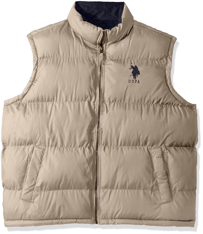 U.S. Polo Assn. OUTERWEAR メンズ B07369818L  Thompson Khaki 5601 3X