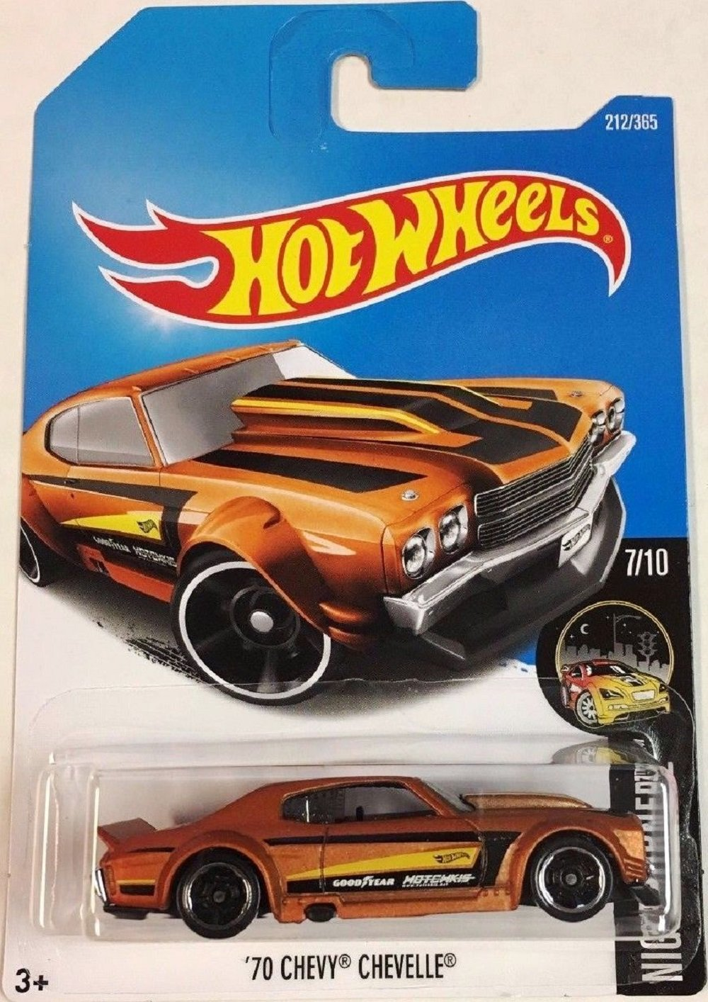 Hot Wheels 2017 Nightburnerz 70 Chevy Chevelle 212 365 Ss Hello I Have A 64 That Ive Orange Toys Games